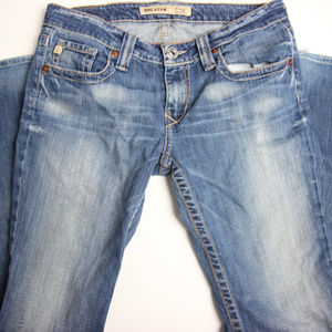 Big Star Mens Casey Low Rise Jeans 30R